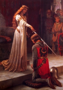 The Accolade by Edmund Leighton
