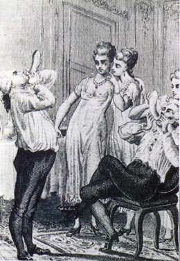 "Figure 2. Casanova entertained his women by blowing up his ""English overcoats"" like balloons."